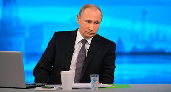Прямая линия с Путиным состоится весной