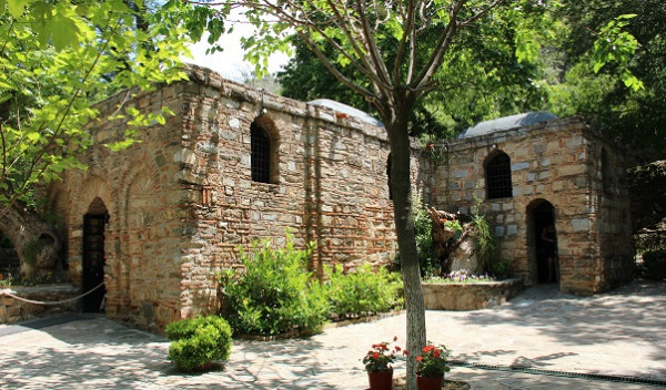 На какие курорты ездили древние римляне?. Измир. Дом Богоматери Марии