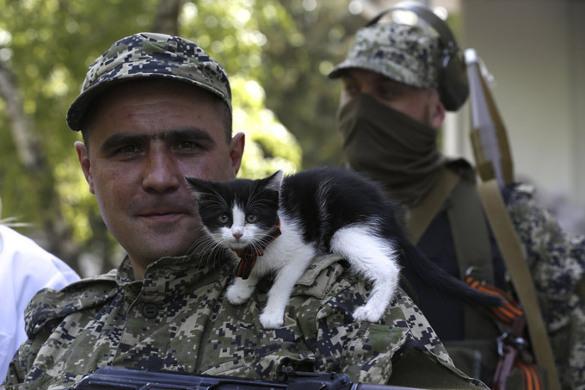 Пленные украинские солдаты восстанавливают технику ополчения. 299958.jpeg