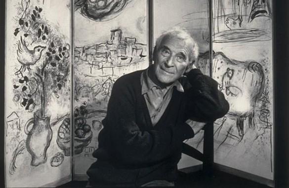 Скромный еврейский художник Марк Шагал