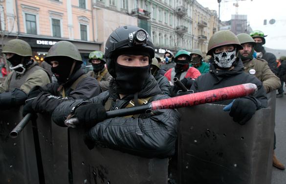 Бандеровцы пытались сорвать в Лиссабоне выставку о трагедии в Одессе.