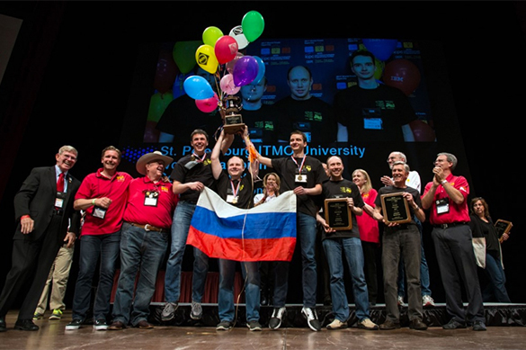 Питерские студенты объявлены лучшими программистами мира