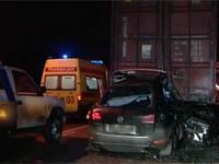 Директор петербургского завода погиб в ДТП. avaria