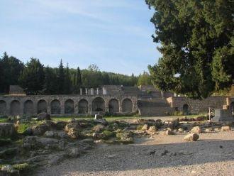На какие курорты ездили древние римляне?. Асклепийон