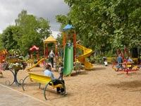 В Карелии погиб мальчик, играя на детской площадке