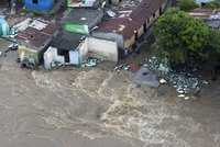После мощных ливней на Австралию обрушились наводнения. наводнение