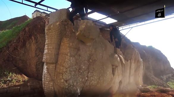 Боевики ИГ уничтожили объекты исторического наследия ЮНЕСКО. ВИДЕО. Боевики ИГ