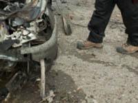 Полицейский УАЗ был подорван в Дербенте. dagestan
