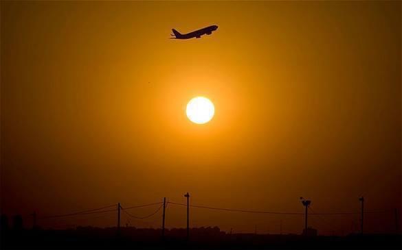 В самолете был найден труп мужчины