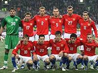 Российская футбольная сборная меняет форму