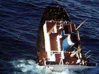 В Средиземном море затонуло рыболовецкое судно