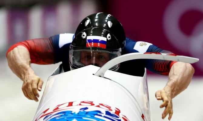 Трех российских бобслеистов отстранили от Олимпиады. Трех российских бобслеистов отстранили от Олимпиады