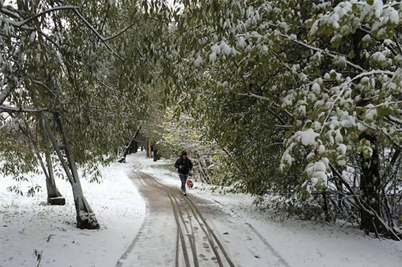 Москву ждут холод и снег