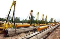 Поврежденный взрывом газопровод восстановлен
