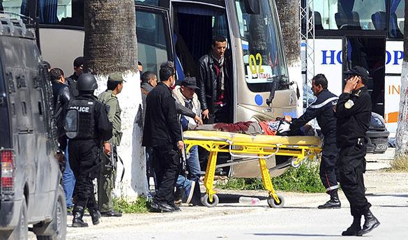 В ходе теракта в Тунисе пострадал один россиянин. В Тунисе пострадан турист из России