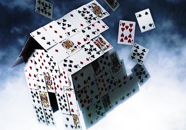Карточный домик: западный мир трещит по швам. домик