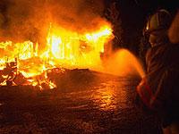 Крупный пожар в Новосибирске потушат только в четверг