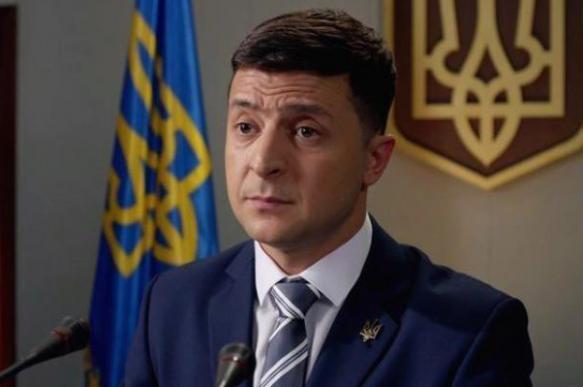 Зеленский занял лидирующую позицию в президентской гонке на Украине. 400972.jpeg