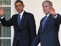 Деликатный Джордж Буш отказывается комментировать политику Обамы