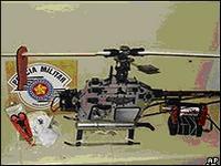 Бразильская полиция захватила игрушечный вертолет местных зеков