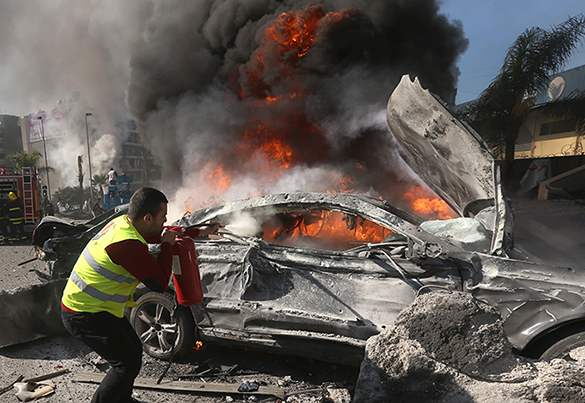 Взрыв возле иранского культурного в центре в Бейруте унес минимум 4 жизни. 288975.jpeg