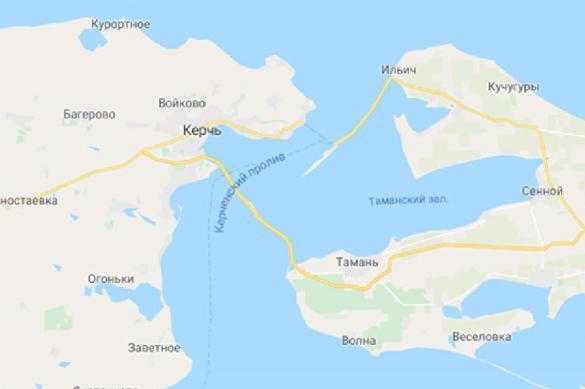 """На Украине """"бомбит"""": Google добавил на карты Крымский мост. 386975.jpeg"""