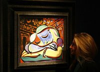Малоизвестная картина Пикассо выставлена на аукцион. picasso