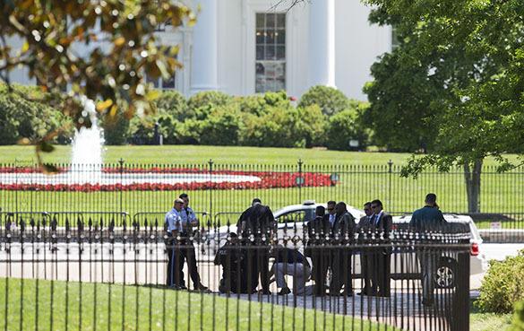 Забор вокруг Белого дома