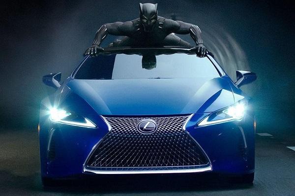 Машины для супергероев из вселенной Marvel. Lexus LC 500