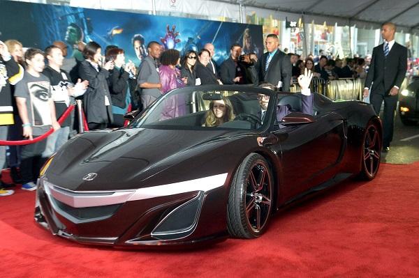 Машины для супергероев из вселенной Marvel. Acura NSX
