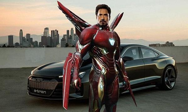 Машины для супергероев из вселенной Marvel. Audi e-tron GT