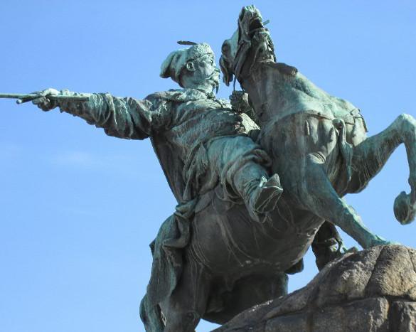 памятник Шевченко в Киеве