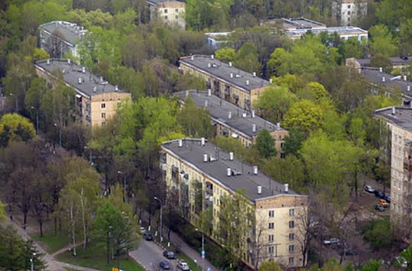 Московские пятиэтажки заменят монолитки