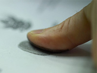 Загадочного грабителя нашли по отпечатку пальца