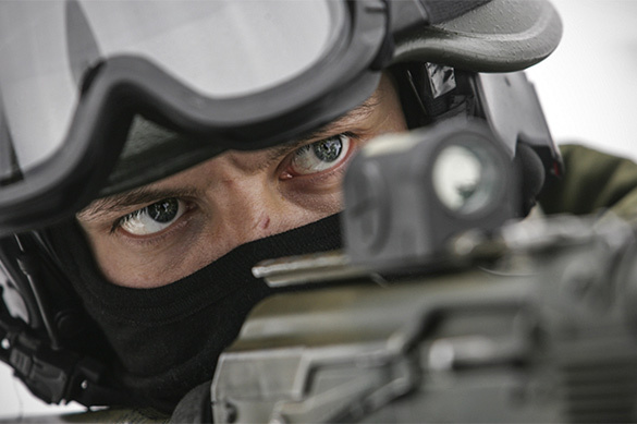 Росгвардия оснастит подавители майдана автоматическими пушкам