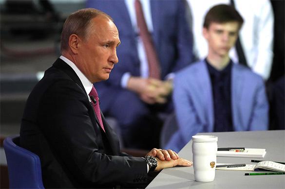 1_Путин ответил на вопрос, кого оставит после себя