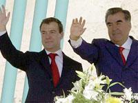 Медведев и Рахмон сделали совместное заявление