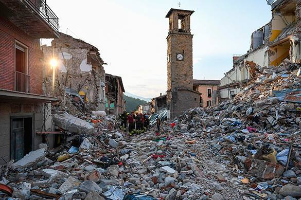 Еще один житель Аматриче спасся под завалами после землетрясения