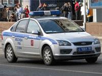 Милиционер сбил пешехода в Подмосковье