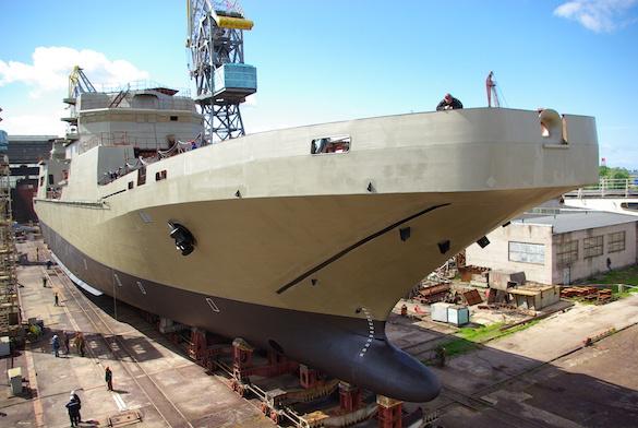 """Прибалтийский завод """"Янтарь"""" построит несколько фрегатов для Индии. 373986.jpeg"""