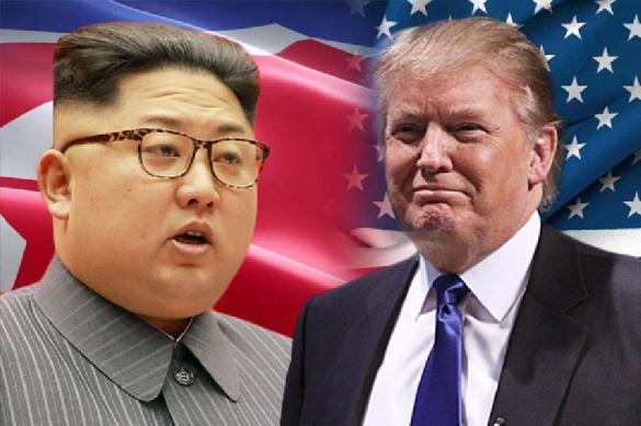 Трамп и Ким Чен Ын подписали итоговое заявление по встрече в Сингапуре. 387987.jpeg