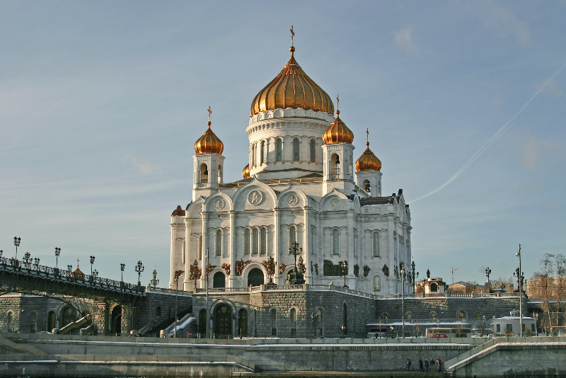В Москве храм Христа Спасителя проверяют из-за сообщения о бомбе. В Москве храм Христа Спасителя проверяют из-за сообщения о бомбе
