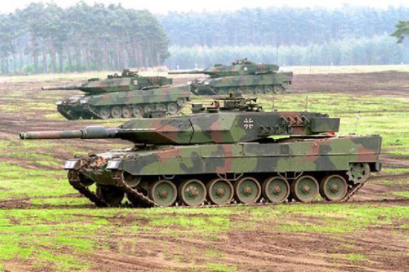 Германия начинает модернизацию танков