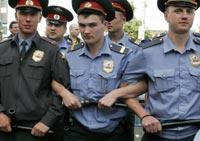 Московская милиция готовится к