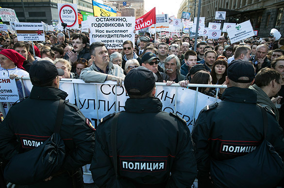 А получилось как всегда: Навальный и Яблоко ищут ходы к пятиэт