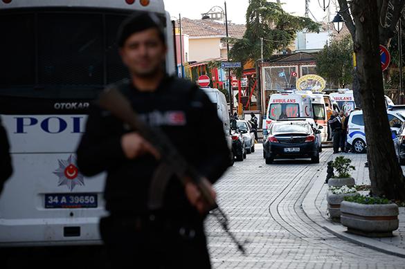 В центре Стамбула прогремел мощный взрыв