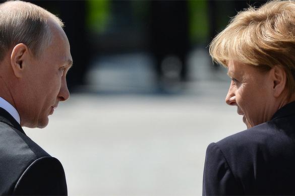 ЭКСПЕРТ. Путин и Меркель