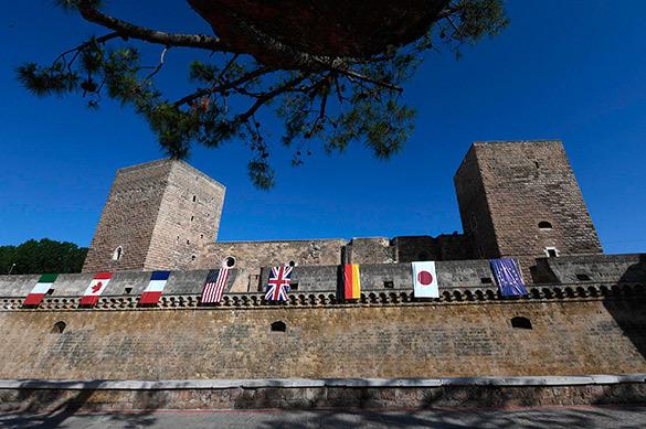 В Сицилии порты закроют на время собрания большой семерки