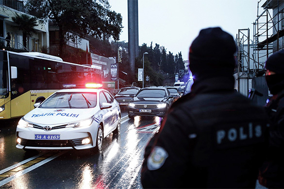 Полиция задержала смертника в Стамбуле