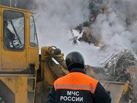 Рядом с местом взрыва газопровода обнаружена утечка газа